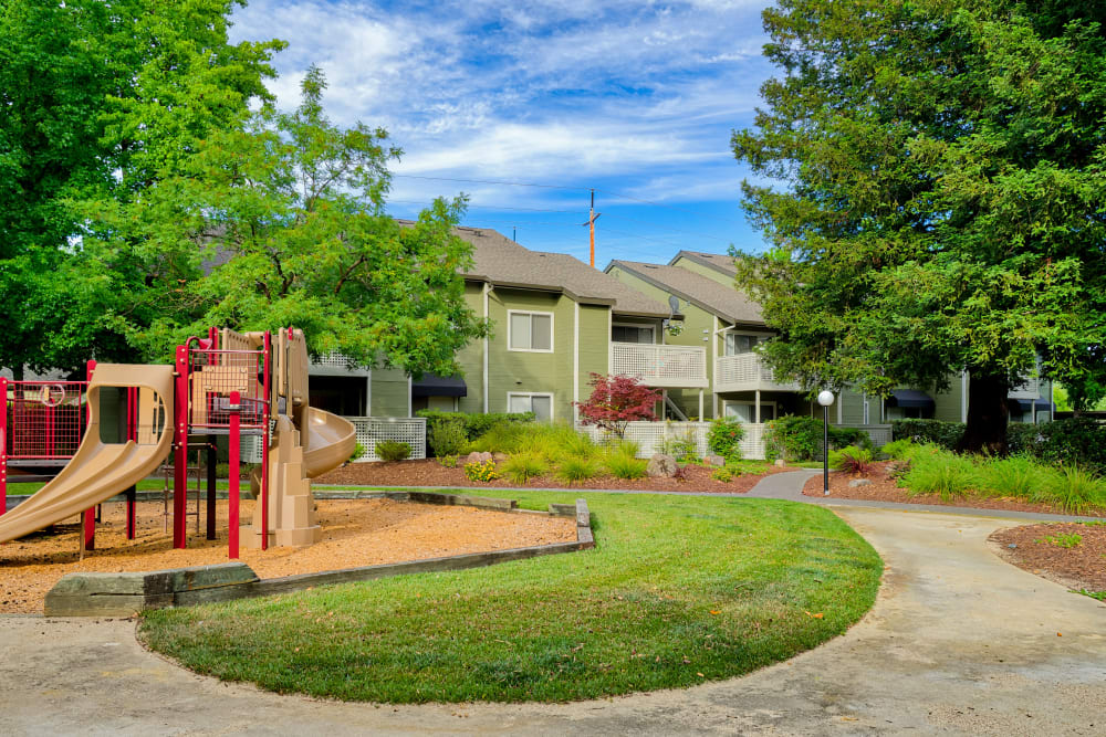 Community playground at The Villages in Santa Rosa, California