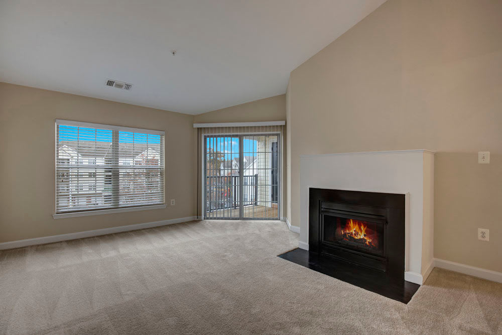 Dulles Greene offers a Unique Fireplace in Herndon, Virginia