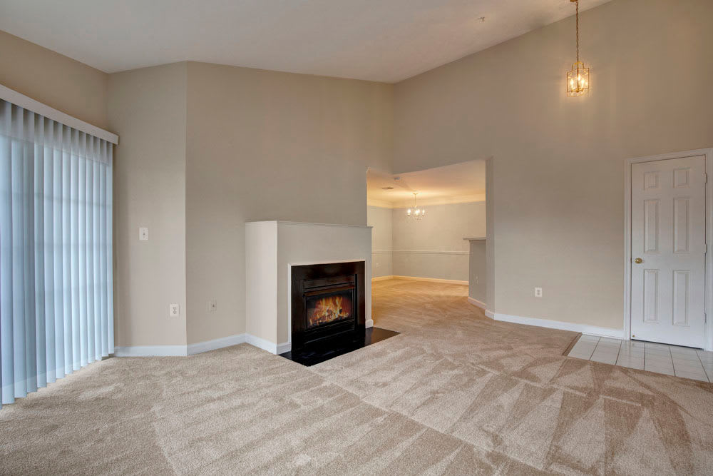 Fireplace at our Spacious Apartments in Herndon