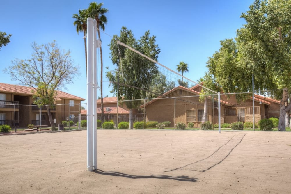 Volleyball Court at 505 West Apartment Homes in Tempe, Arizona