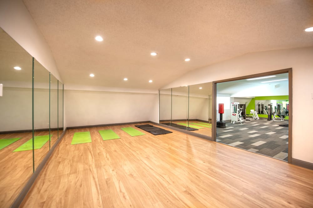 Body movement studio at 8500 Harwood Apartment Homes in North Richland Hills, Texas