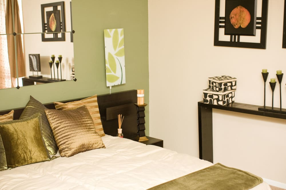 bedroom at 8500 Harwood Apartment Homes in North Richland Hills, Texas