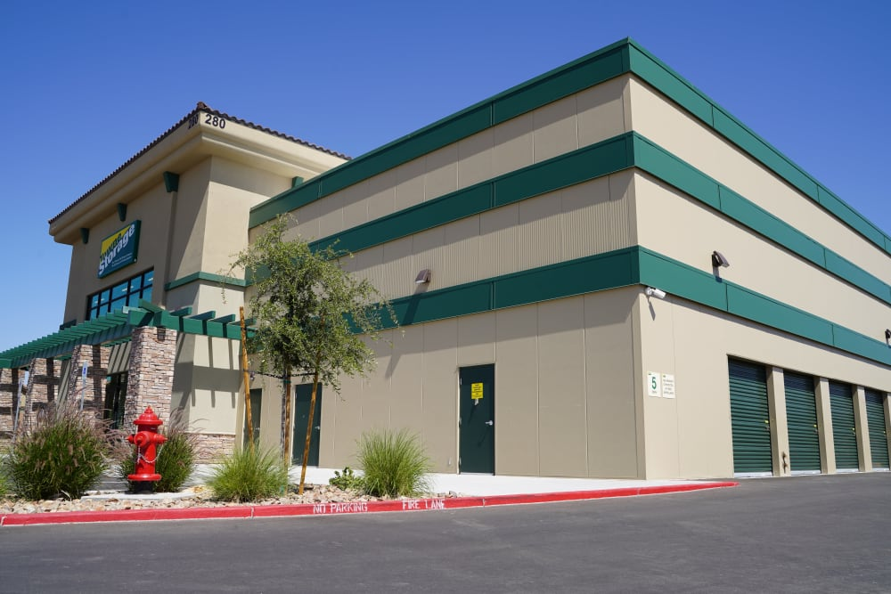 Street access at Towne Storage in North Las Vegas, Nevada