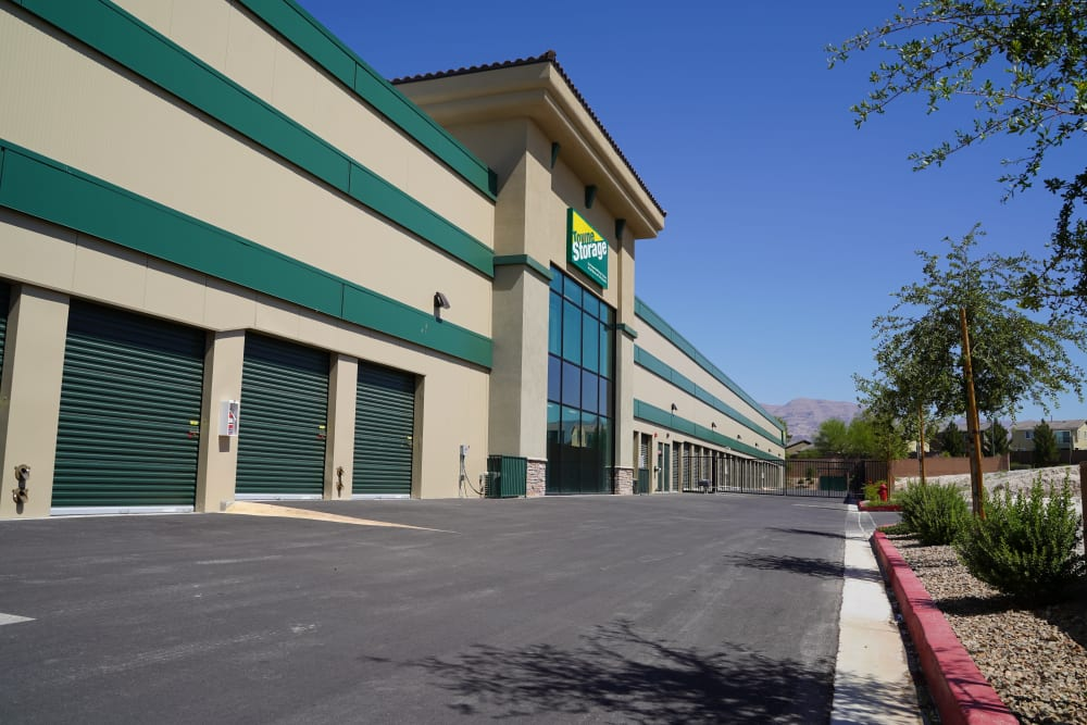 Exterior units at Towne Storage in North Las Vegas, Nevada