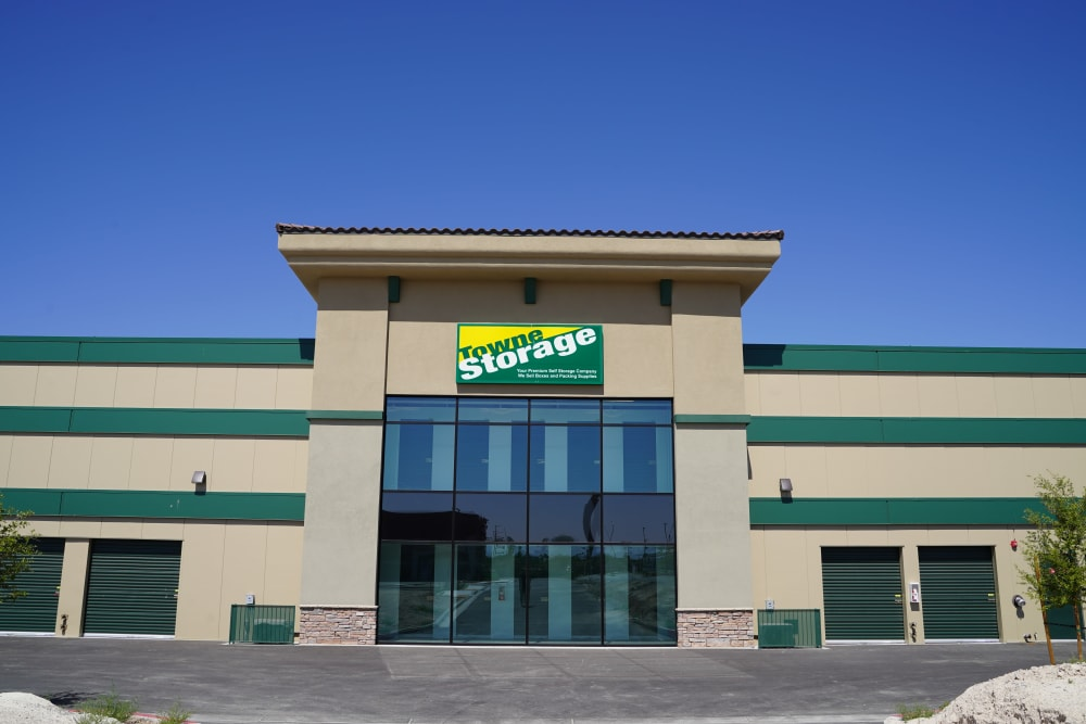 Store front at Towne Storage in North Las Vegas, Nevada
