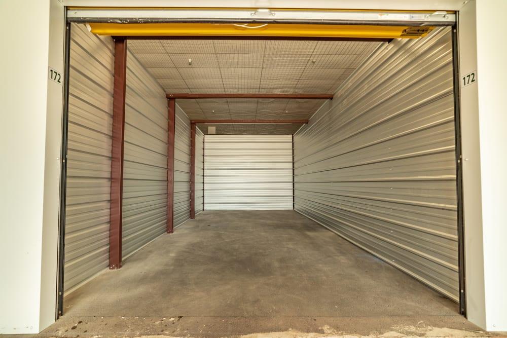 Inside of units at Kenosha Self Storage in Broken Arrow, Oklahoma