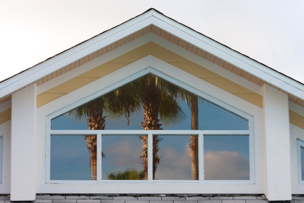 Architectural accent of building exterior at Abaco Key in Orlando, Florida