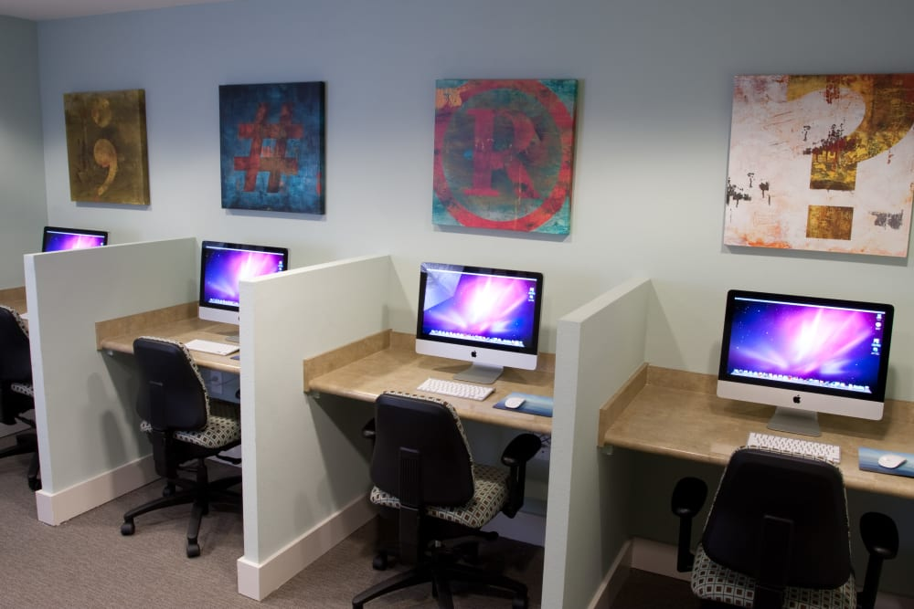 Business Center at Abaco Key in Orlando, Florida