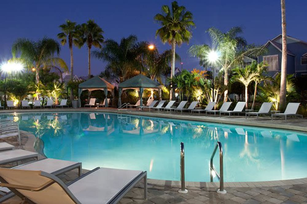 Our Luxury Apartments in Orlando, Florida showcase a Swimming Pool