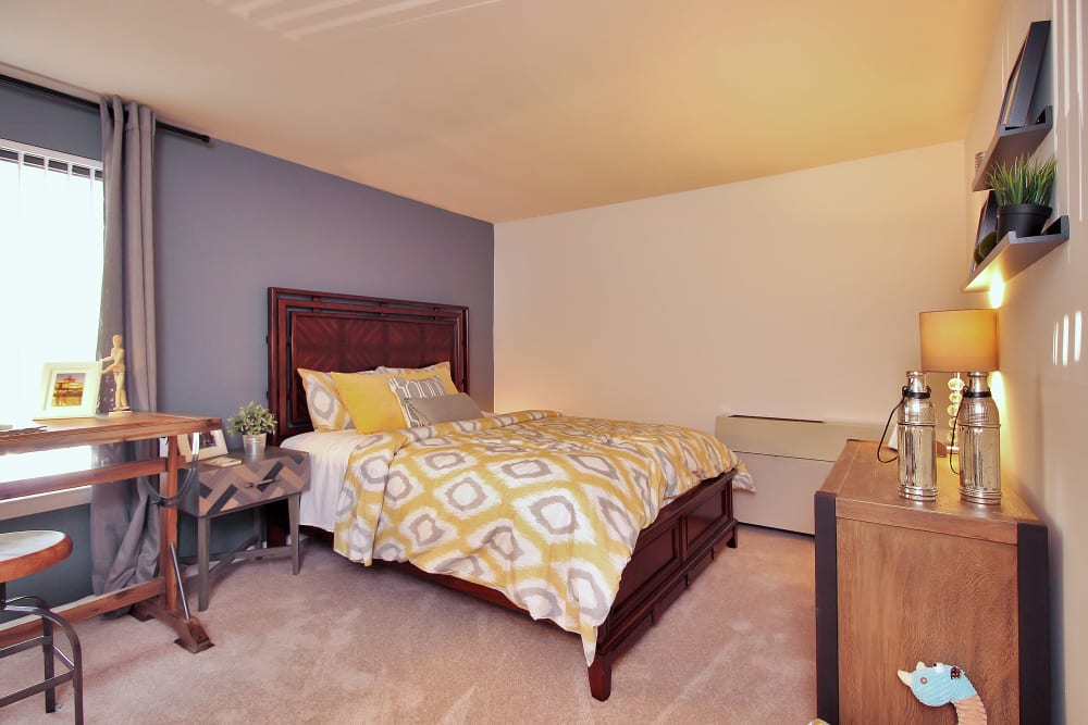 Spacious Bedroom at The Hamptons at Town Center in Germantown, Maryland