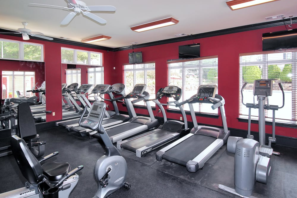 Enjoy our Luxury Apartments Fitness Center at The Hamptons at Town Center