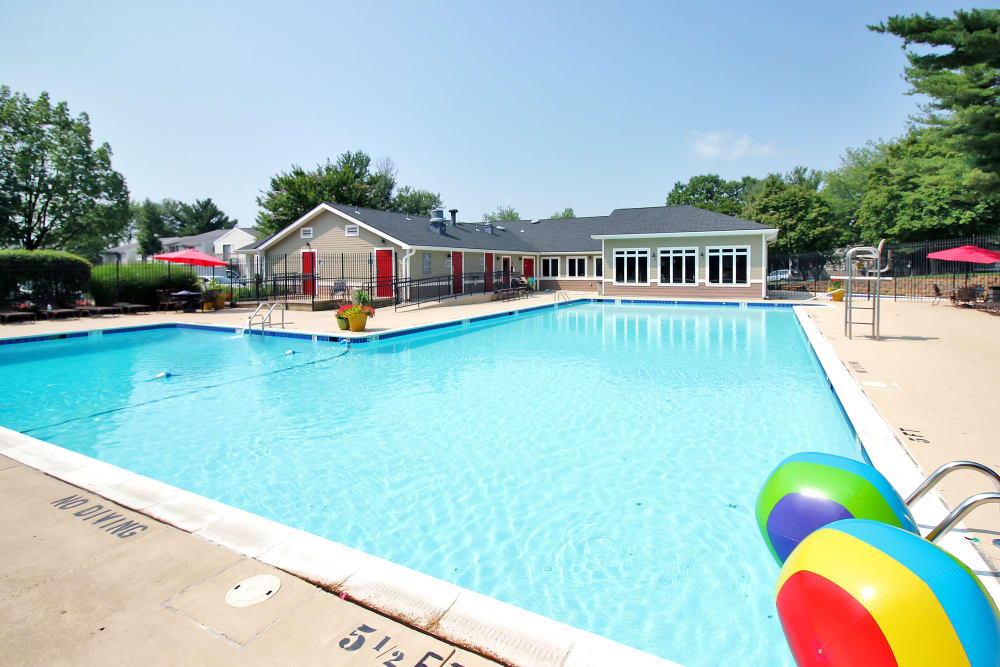 Great for entertaining Swimming Pool at Apartments in Germantown, Maryland