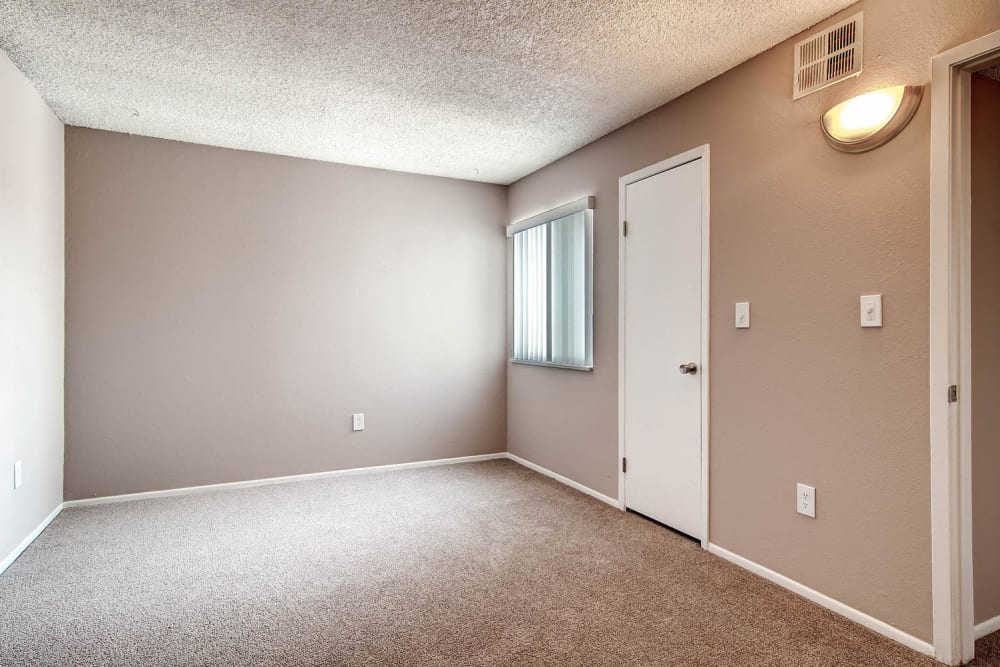 Entrance to apartment living room at Arvada Village Apartment Homes in Arvada, Colorado