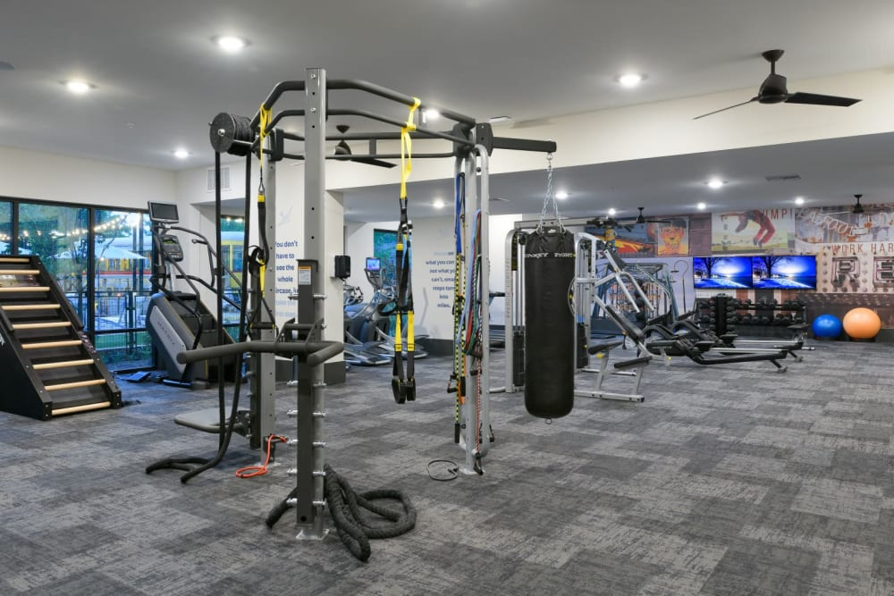 Fitness Center at Bluebird Row in Chattanooga, Tennessee