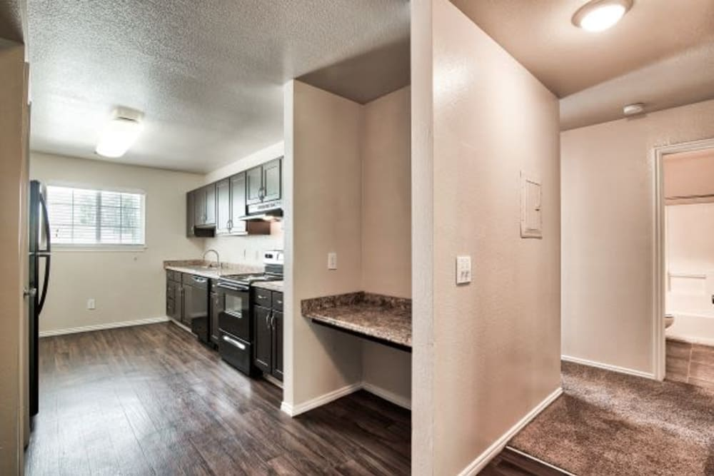 Our Apartments in Bountiful, Utah have built-in home office desks