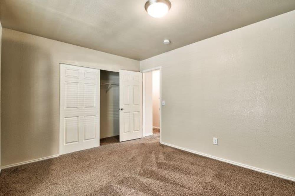Bedroom at Cherry Lane Apartment Homes in Bountiful, UT