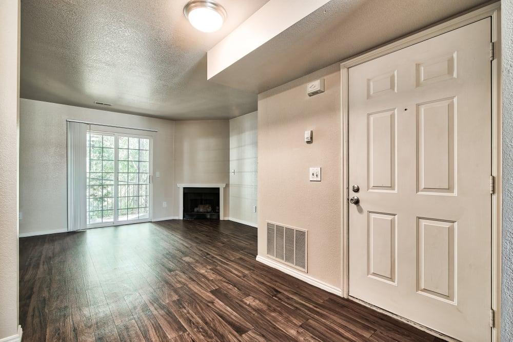 Living Room at Cherry Lane Apartment Homes in Bountiful, Utah