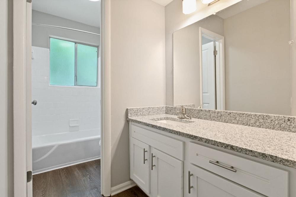 Beautiful Bathroom at Apartments in Roswell, Georgia
