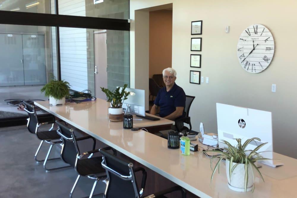 Leasing office at Mesa, Arizona