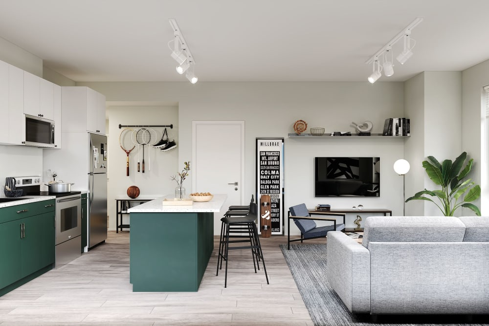 View our floor plans at UNCOMMON Reno in Reno, Nevada