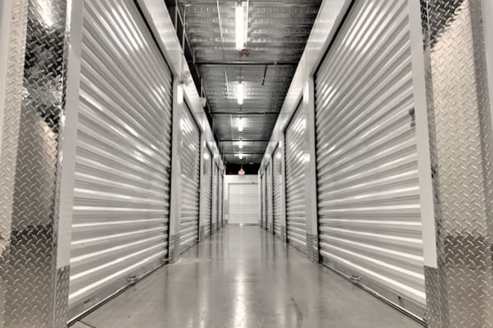 Climate-controlled storage options at My Neighborhood Storage Center in Jacksonville, Florida