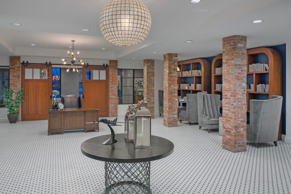 Community stays in Clubhouse at Bradlee Danvers in Danvers, Massachusetts