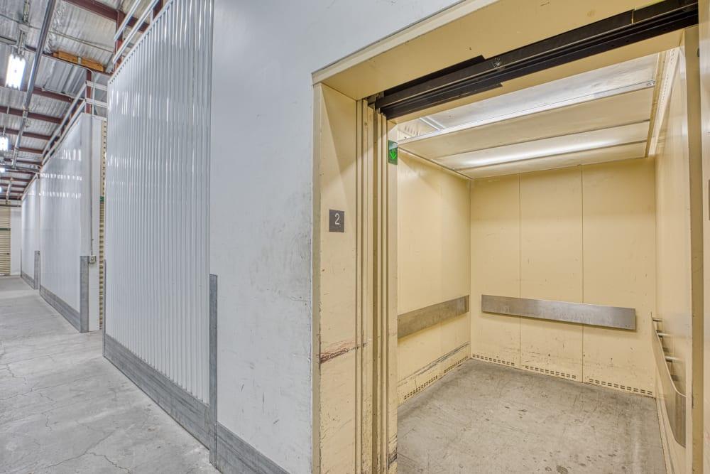 Elevator at Golden State Storage - Horizon Ridge in Henderson, Nevada