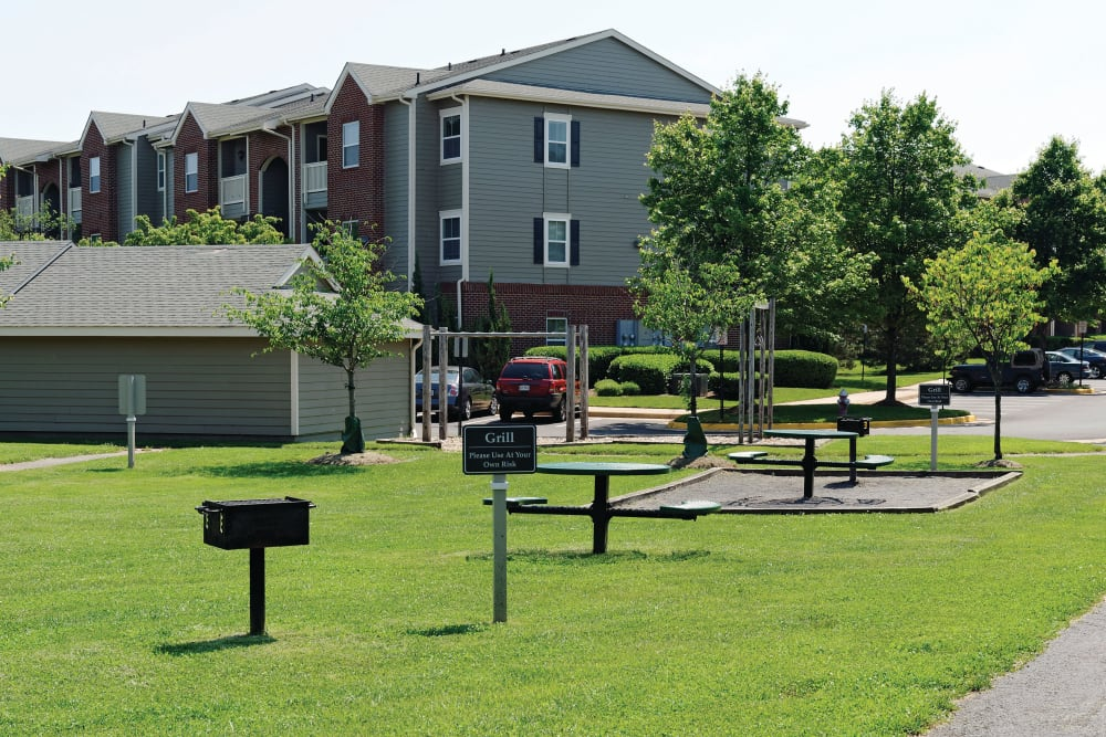Landscaping of Woodway at Trinity Centre in Centreville, Virginia