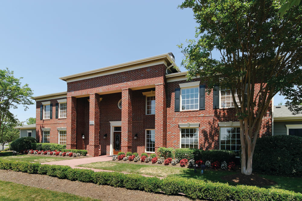 Office entry of Woodway at Trinity Centre in Centreville, Virginia
