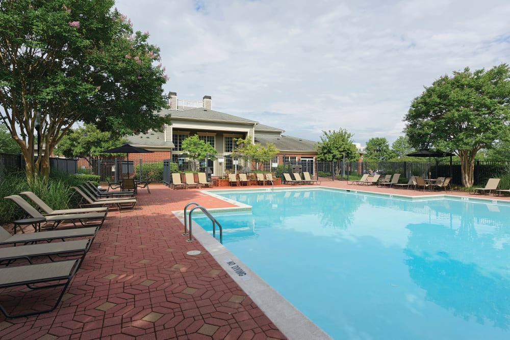 Pool at Woodway at Trinity Centre in Centreville, Virginia