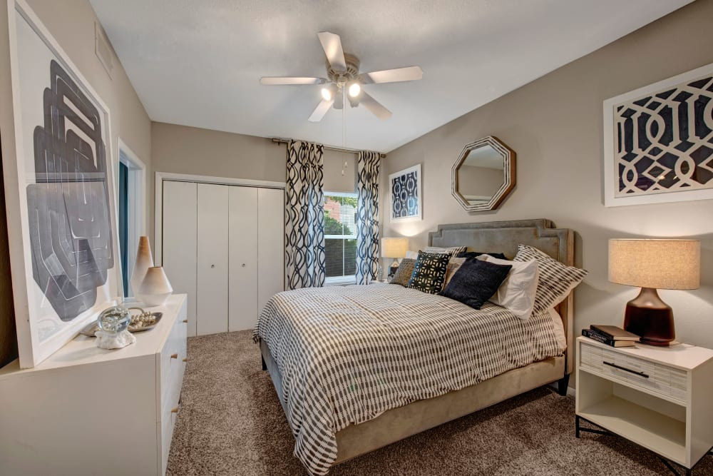 Bedroom at Woodway at Trinity Centre in Centreville, Virginia