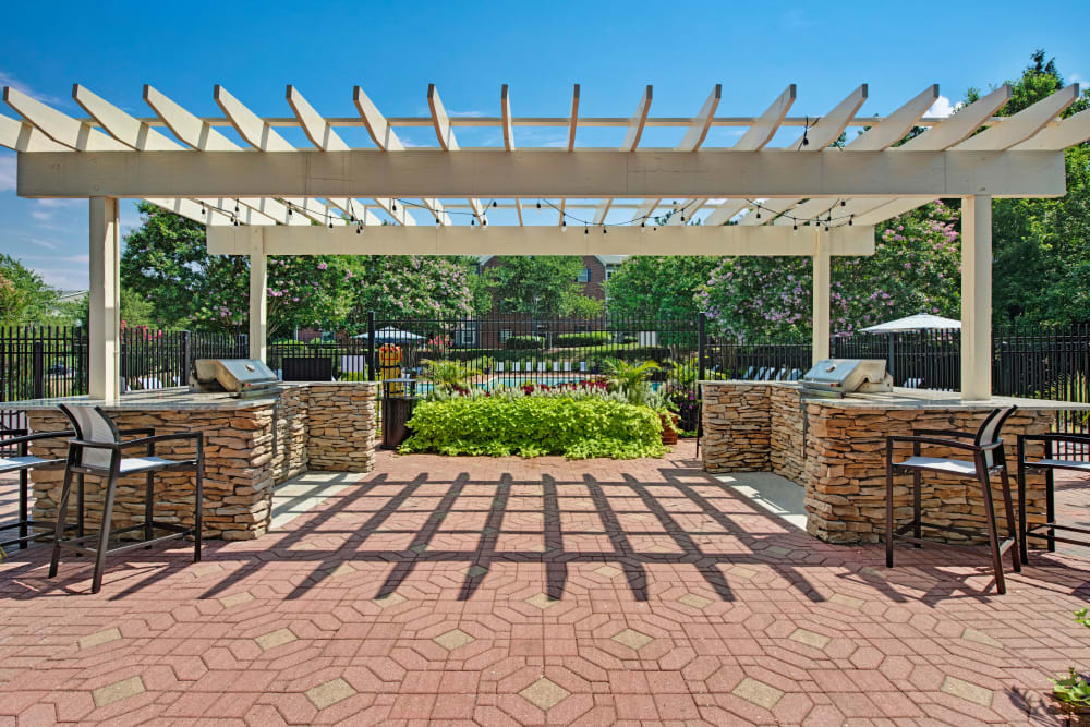 Poolside at Woodway at Trinity Centre in Centreville, Virginia