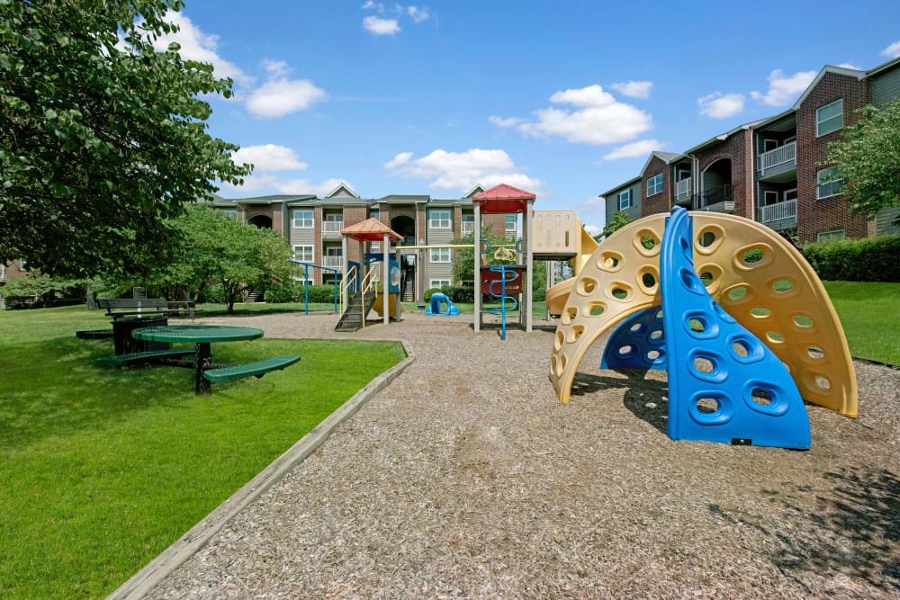Playground at Woodway at Trinity Centre in Centreville, Virginia