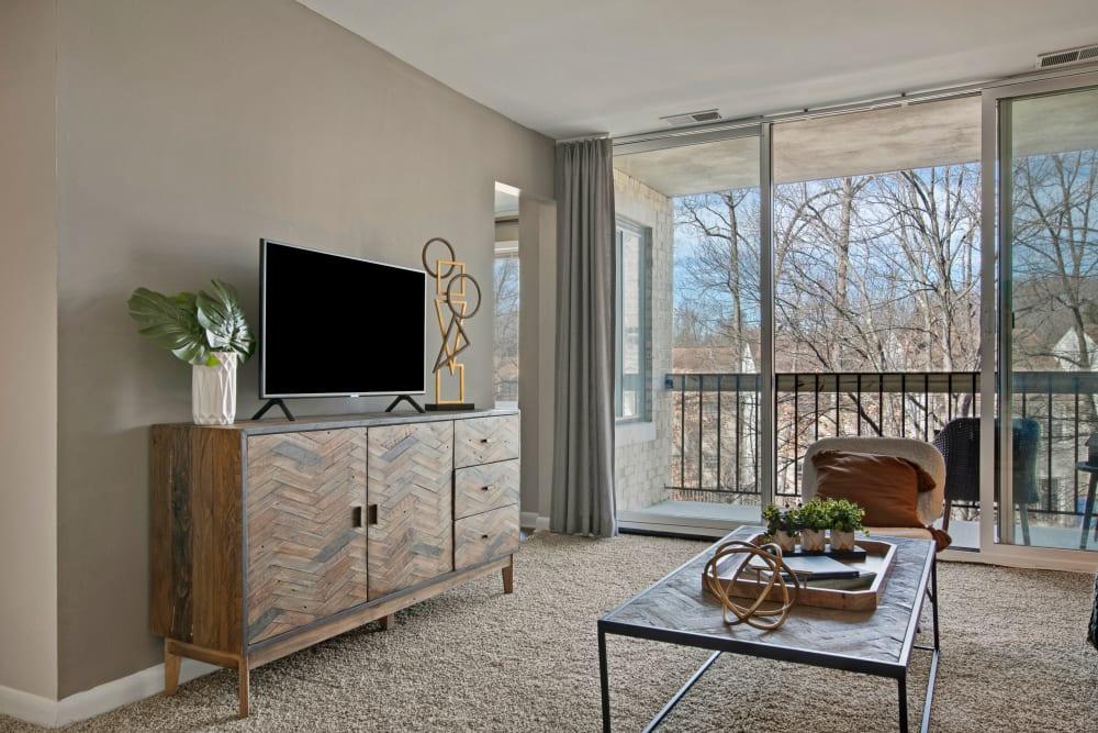 Living room at West Springfield Terrace Springfield, VA