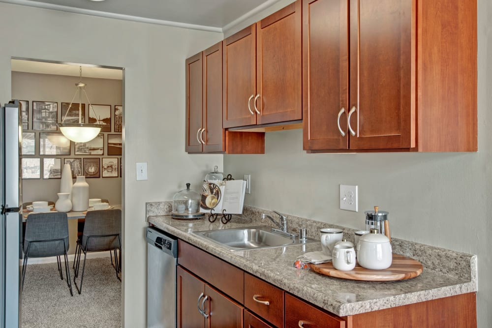 Kitchen at West Springfield Terrace Springfield, VA