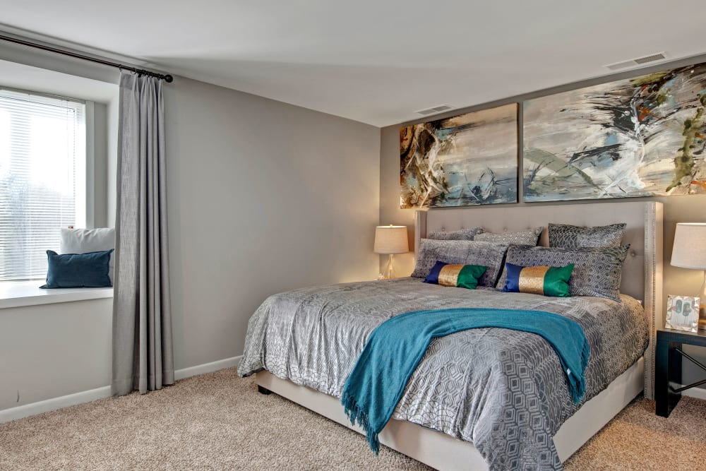 Bedroom at West Springfield Terrace Springfield, VA