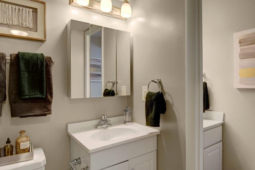 Bathroom at West Springfield Terrace Springfield, VA