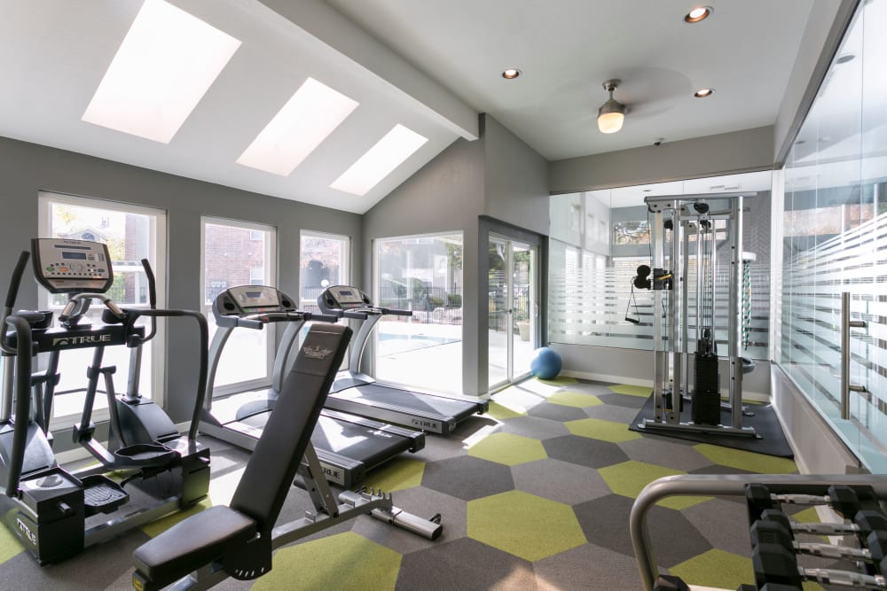 Gym at Waterfield Court Apartment Homes Aurora, CO