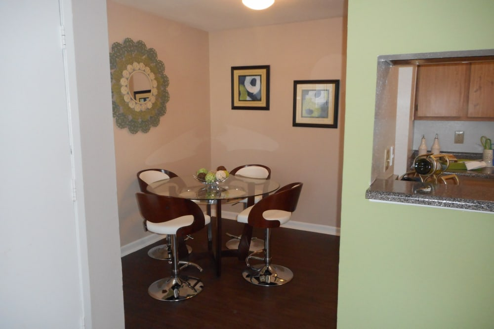 Dining room at Walden Pond Houston, TX