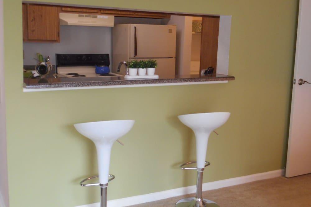 Kitchen stools at Walden Pond Houston, TX
