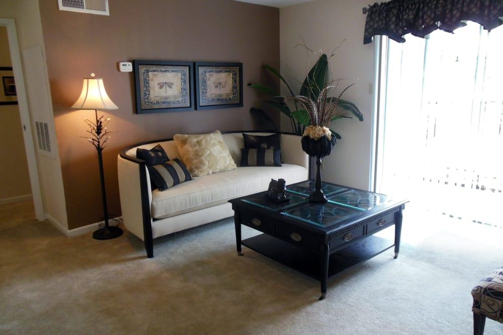 Living room at Walden Pond Houston, TX