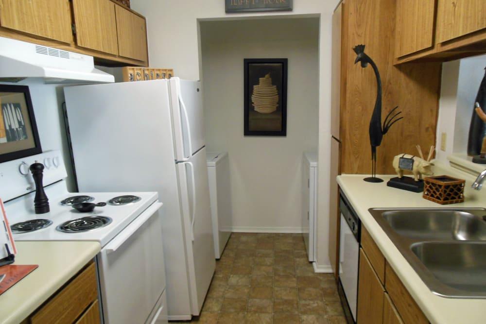 Kitchen at Walden Pond Houston, TX