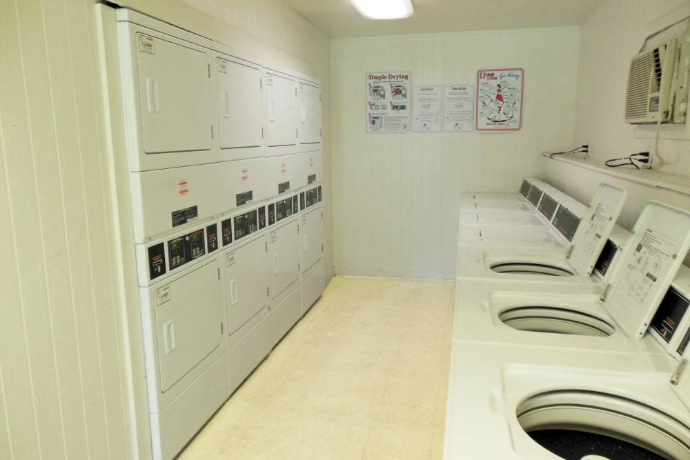 Laundry room at Walden Pond Houston, TX