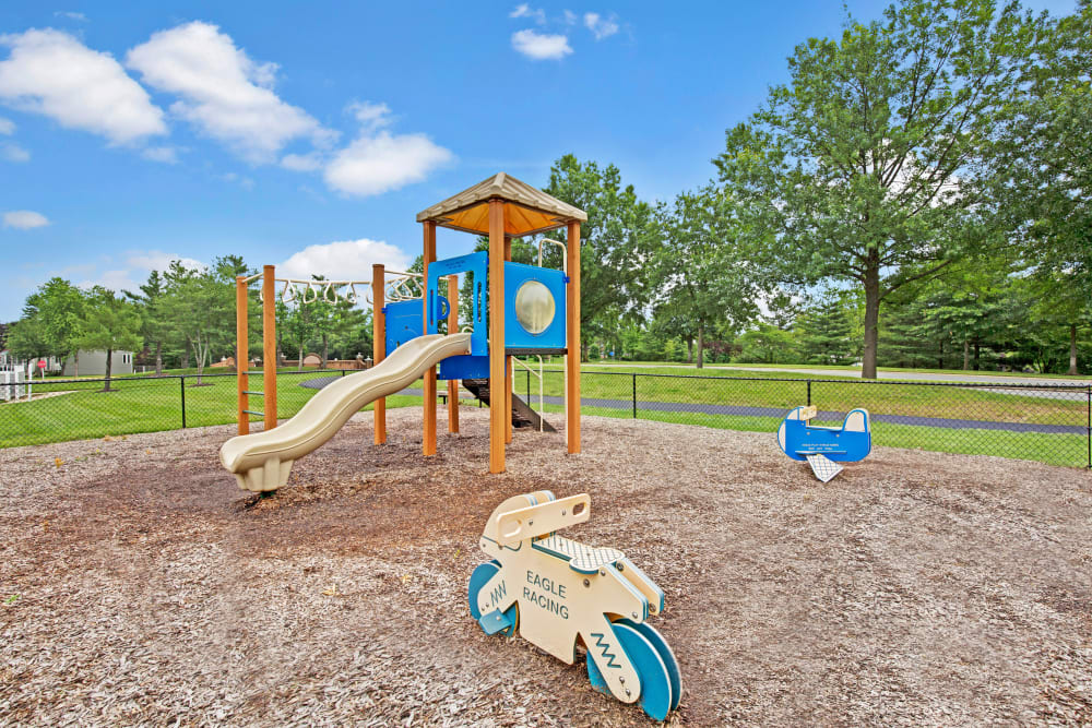 Children's playground at Sussex at Kingstowne in Alexandria, Virginia