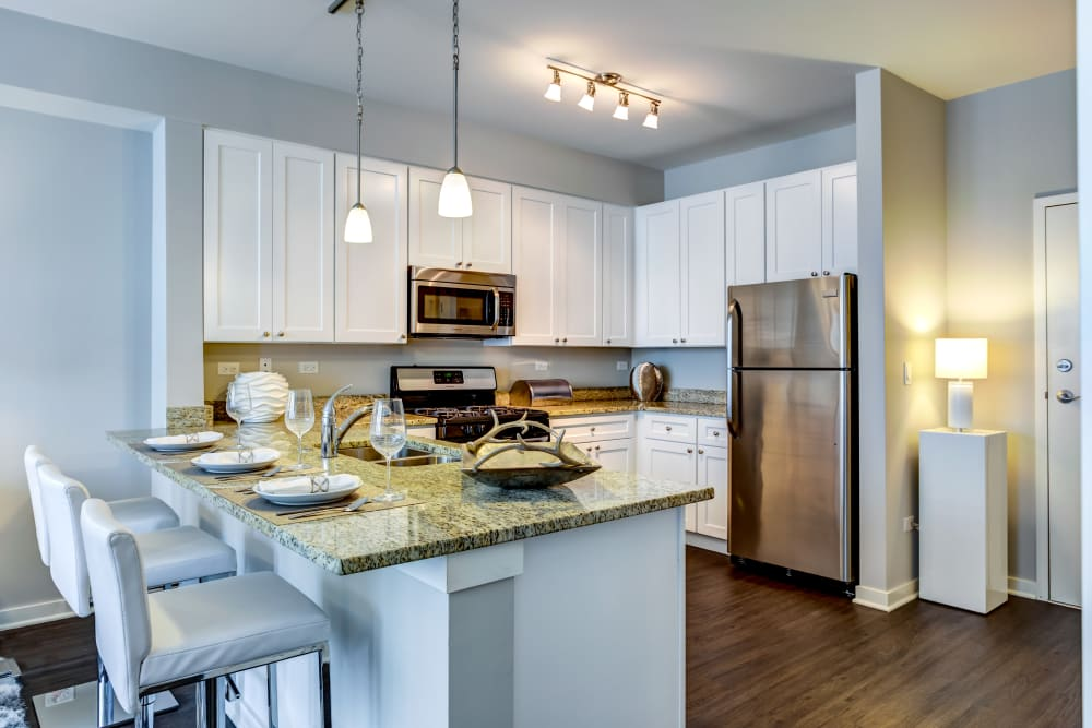 Kitchen at The Oaks Of Vernon Hills in Vernon Hills, IL