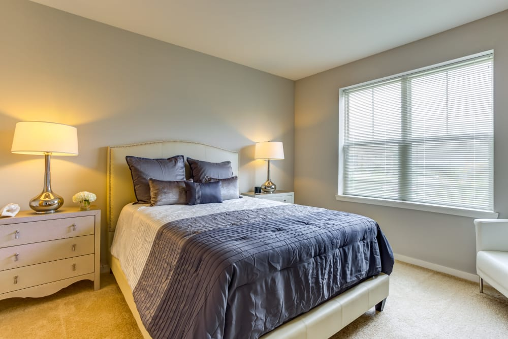 Bedroom at The Oaks Of Vernon Hills in Vernon Hills, IL