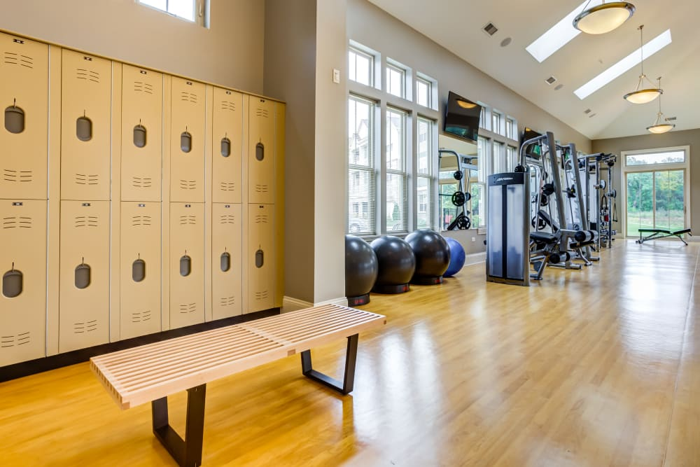 Fitness center at The Oaks Of Vernon Hills in Vernon Hills, IL
