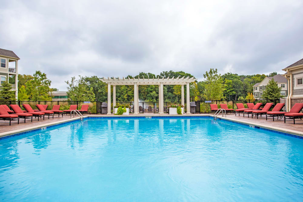 Spacious pool at The Oaks Of Vernon Hills in Vernon Hills, IL