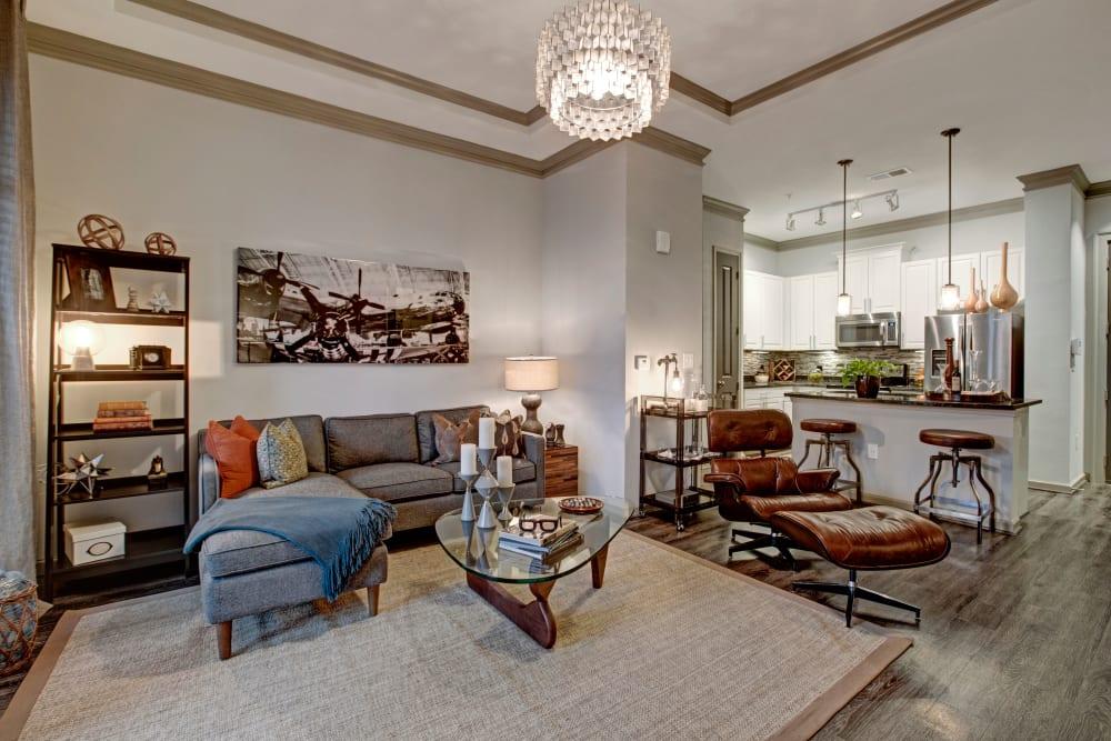 Lounge room at Mark at West Midtown in Atlanta, GA