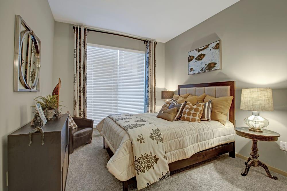 Spacious bedroom at Mark at West Midtown in Atlanta, GA